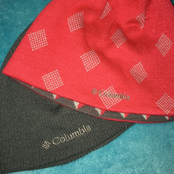 Columbia Accessories - Bundle of 2 Columbia Hats  Red Hat is Reversible fde816ab4e2b